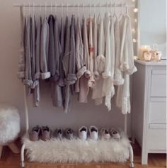 New bedroom wardrobe bed clothing racks Ideas Bedroom Ideas For Teen Girls, Teenage Girl Bedrooms, Girls Bedroom, Bedroom Decor, My New Room, My Room, Closet Walk-in, Bedroom Wardrobe, Blue Rooms