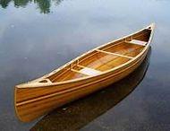 A cedar strip canoe is a thing of beauty.