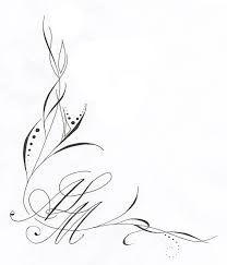 """Résultat de recherche d'images pour """"tattoo arabesque initiale bas du dos"""""""