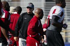 """Steve Spurrier, at practice at Jefferson High, says: """"Physically, and hopefully mentally, I'm the same as I was 20 years ago."""""""