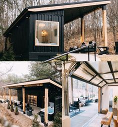 Would you want to stay in this Airbnb? Amazing shipping container home by Go check it out! Shipping Container Cabin, Shipping Container Home Designs, Shipping Containers, Cargo Container, Storage Container Homes, Container Gardening, Building A Container Home, Container Buildings, Container Architecture