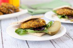 Vegan Cinnamon Curry Quinoa Burgers   Healthful Pursuit