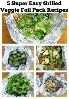These veggie foil packs for your grill make summer easy, just like it's supposed to be.