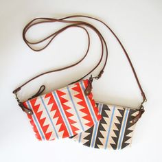 Zigzag Cha-ching Purse Bags made by the renowned leather designer Chloe Townsend of Missibaba in Cape Town.