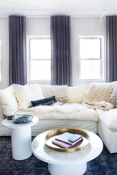 Couch Dreams - 16 Cozy Living Rooms We Want To Live In - Photos