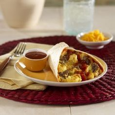 Try Ortega Sausage and Egg Breakfast Burritos at family night! Make Ahead Breakfast Burritos, Breakfast Bake, Sausage Breakfast, Breakfast Ideas, Crockpot, Sausage And Egg, Vegetarian Breakfast, Christmas Breakfast, Mexican Food Recipes