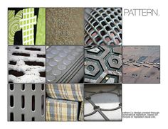 PATTERN is the repetition or alternation of one or more components to create a visual unit. Photography Lessons, Photography Projects, Art Photography, Elements And Principles, Elements Of Design, Art Elements, Techno, Beginner Art, Photoshop Projects