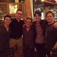 Darren Criss with friends
