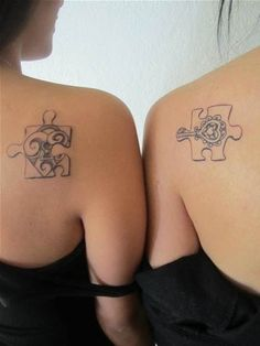 best friend tattoos for girls - Bing Images