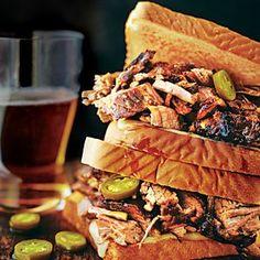 Cowboy Brisket Sandwich