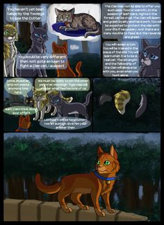 Warriors into the wild: page -15 by SassyHeart on DeviantArt