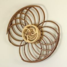 Kinetic Sculpture by David C. Roy - All Sculptures | Wood That Works | Kinetic Art - Monarch