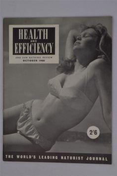 Health And Efficiency H&E October 1960 Vintage UK Magazine Naturism Nudism Adult | Bücher, Zeitschriften, Männermagazine | eBay!