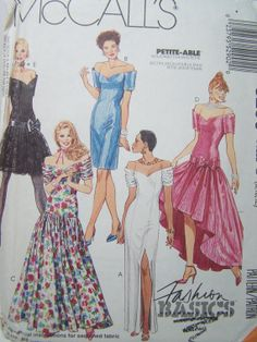 McCall's 5290 Women's Sewing Pattern Misses' by WitsEndDesign