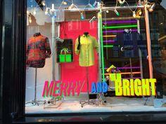 Very! Christmas window display. Thomas Pink - Edinburgh, November 2014