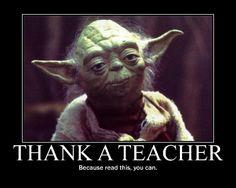 It's teachers appreciation week! #thankateacher #education