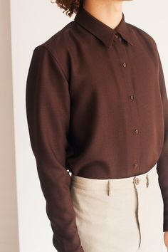The 'Keira' shirt and trousers for men.