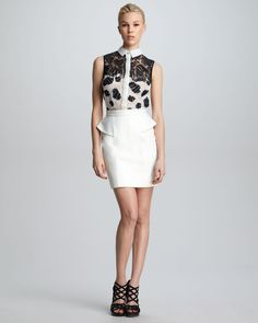 http://ncrni.com/jason-wu-sleeveless-floral-combo-shirt-leather-peplum-skirt-p-7175.html
