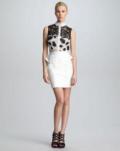 http://ncrni.com/jason-wu-sleeveless-floral-combo-shirt-leather-peplum-skirt-p-7175.html