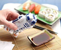 R2-D2 Soy Sauce Dispenser http://www.thisiswhyimbroke.com/r2-d2-soy-sauce-dispenser