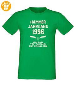 Geschenk Zum 21. Geburtstag, Fun -Spr?che - Motiv T-Shirt, in Hell-Gr?n, Hammer Jahrgang 1996, Kein Rost (*Partner-Link)