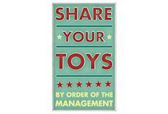 Share Your Toys on OneKingsLane.com