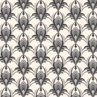 1920s Wallpaper || Deco Sunburst Pattern