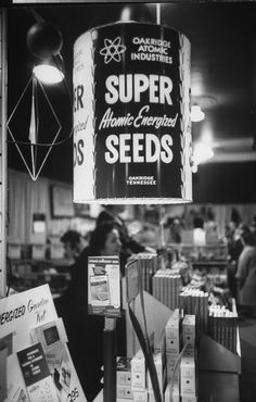 A 1961 garden show featuring atomic energized seeds and plants.