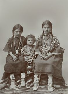 Unidentified Native American children