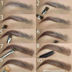 Make Up; Make Up Looks; Make Up Augen; Make Up Prom;Make Up Face; Makeup Steps Source by kayceenjax Eyebrow Makeup Tips, How To Do Makeup, Makeup Guide, Eye Makeup Tips, Makeup Contouring, Makeup Inspo, Eyeshadow Makeup, Makeup Ideas, Makeup Eyebrows