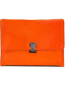 Shop Proenza Schouler large 'Lunch' clutch in Stefania Mode from the world's best independent boutiques at farfetch.com. Over 1000 designers from 300 boutiques in one website.