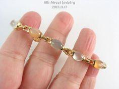 Gold-Vermeil-Sterling-Silver-925-Three-Colors-of-Moonstone-Tennis-Bracelet