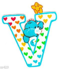 ❤️Care Bears and Friends ~ The Letter V