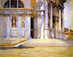 Santa Maria della Salute | John Singer Sargent | oil painting
