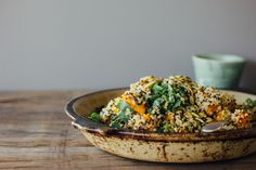 Healthy Pumpkin Quinoa Salad Recipe - Vegan and Gluten free