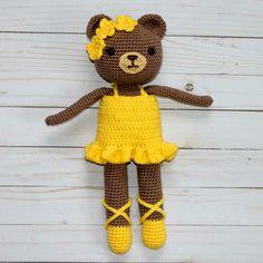 Ballerina+Bear+a+crochet+pattern.jpg (1200×1200)