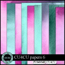 Papers 6 CU4CU by Happy Scrap Arts #CUdigitals cudigitals.com cu commercial digital scrap #digiscrap scrapbook graphics