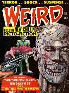 Weird Vol. 02 #1 (Eerie Publications, 1966) by Aeron Alfrey, via Flickr