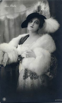 Fern Andra (1893-1974) was an American actress, film director, script writer and producer. She was one of the most popular and best-known actresses in German silent films of the 1910s.