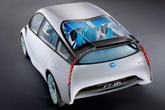 Toyota ft-bh hybrid concept- 112 mpg