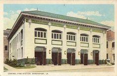 Central Fire Station, Shreveport, Louisiana, the new home of Central Artstation