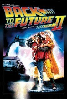 BACK TO THE FUTURE PART II.  Director: Robert Zemeckis.  Year: 1989.  Michael J. Fox, Christopher Lloyd and Lea Thompson