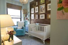 Baby Girl Blue - Jenna Bush Hager's nursery!