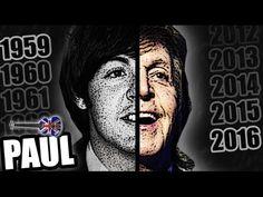 PAUL McCARTNEY'S FACE CHANGE 1959-2016 - YouTube