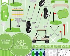 Lots of awesome Golf