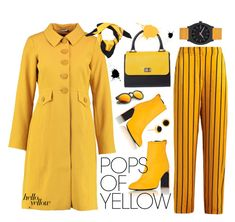 Pops of yellow King Louie, Gucci, Pop, Yellow, Polyvore, Jackets, Fashion, Down Jackets, Moda