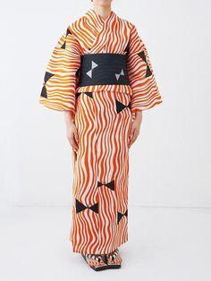 ドゥーブル メゾン「ゆかたと夏きもの展」開催 - カラフルな浴衣の販売やワークショップの写真2