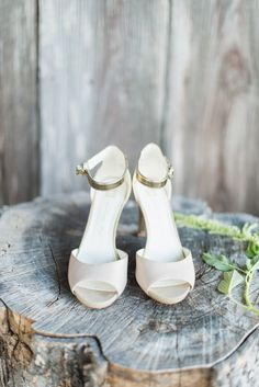 pretty #wedding shoes