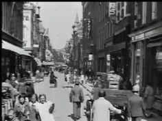 Rotterdam binnenstad (1920) - Documentary about daily life in Rotterdam, pre-WWII. Traffic, city walkers, shopping streets.