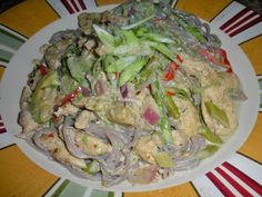 Chef JD's Southwestern Cuisine: Buckwheat Vermicelli with Asparagus and Chicken en...